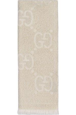 Gucci GG jacquard scarf - Neutrals