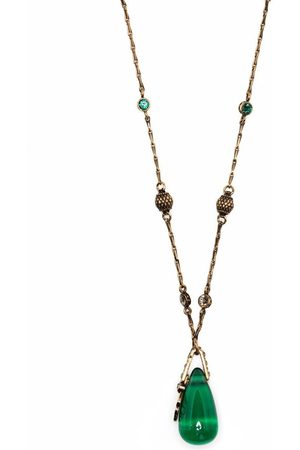Alexander McQueen Seal Signature layered necklace