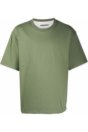 AMBUSH Men Short Sleeve - Reversible crew-neck short-sleeve T-shirt