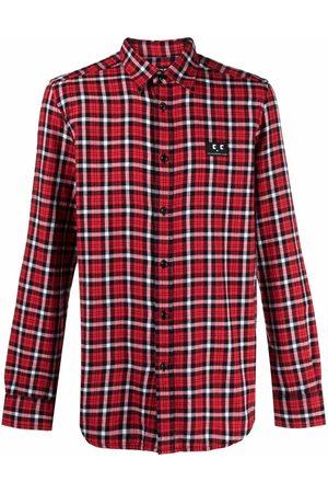 Diesel Men Shirts - Tartan check print shirt