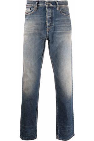Diesel Men Straight - Stonewashed straight-leg jeans