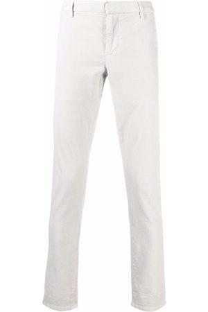 Dondup Men Chinos - Slim chino trousers - Grey