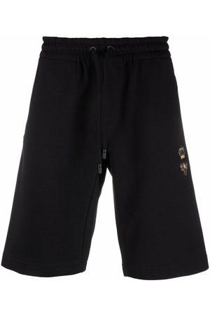 Dolce & Gabbana Embriodered-bee shorts