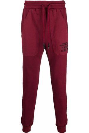 Diesel Men Sweatpants - Drawstring track pants
