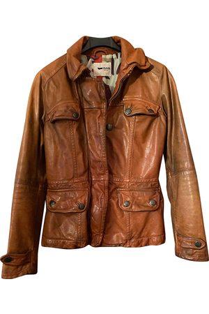 Gas Leather biker jacket
