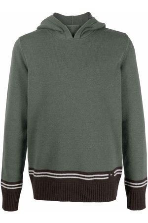 Stone Island Knitted wool-blend hoodie