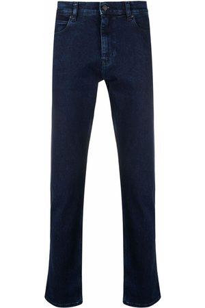 HUGO BOSS Men Slim - Slim-fit dark-denim jeans