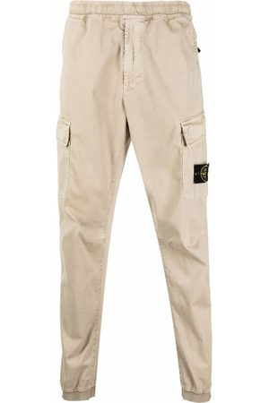 Stone Island Compass badge cargo trousers - Neutrals