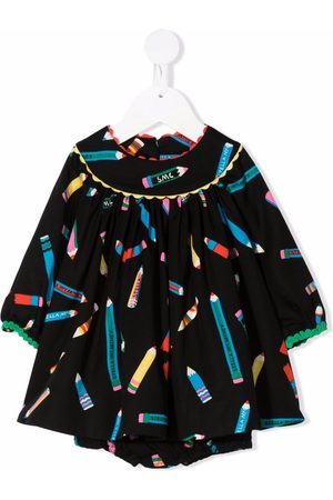 Stella McCartney Baby Printed Dresses - Liptstick-print mini dress