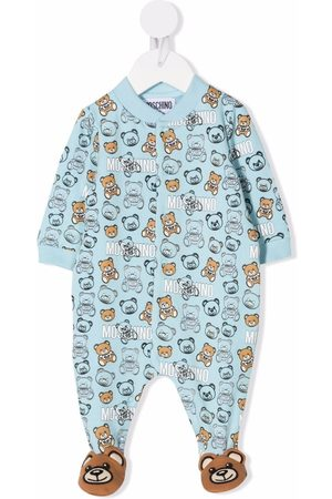 Moschino Baby Rompers - Teddy bear-print romper
