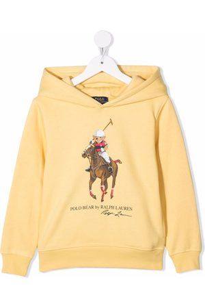Ralph Lauren Boys Hoodies - Logo-print hoodie