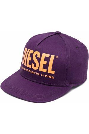 Diesel Kids Boys Caps - Logo-print baseball cap