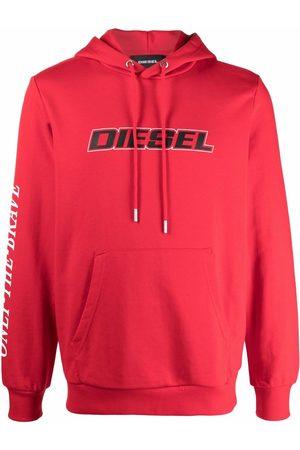 Diesel Men Hoodies - Logo-printed hoodie