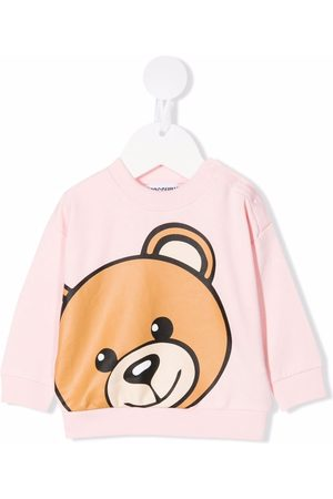 Moschino Teddy bear print sweater