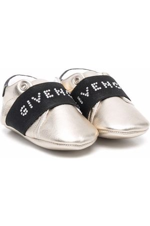 Givenchy Flat Shoes - Logo-print slip-on sneakers