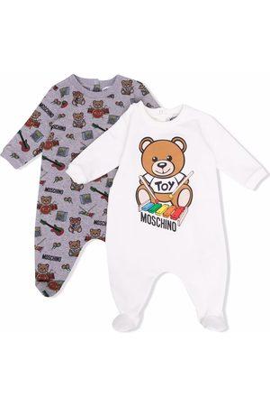 Moschino Bodysuits & All-In-Ones - Teddy bear print babygrow set