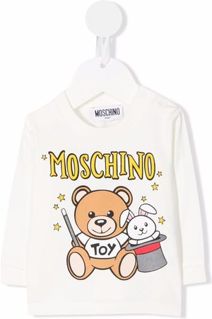 Moschino T-shirts - Teddy bear print T-shirt