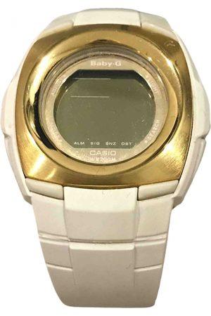 Casio Ecru Gold plated Watches
