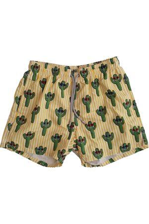MC2 SAINT BARTH Multicolour Polyester Shorts