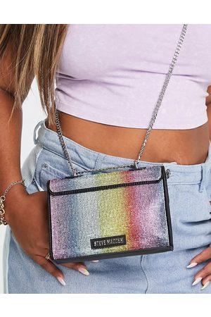 Steve Madden Women Purses - BWonders crossbody bag with chain handle in rainbow-Multi