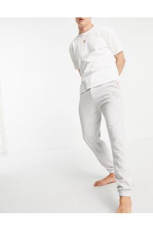 Tommy Hilfiger Men Sweats - Lounge sweatpants with logo in -Grey