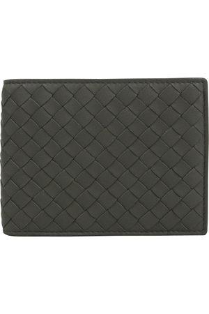 Bottega Veneta Grey Leather Small Bags\, Wallets & Cases