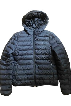 Lacoste Navy Polyester Coats