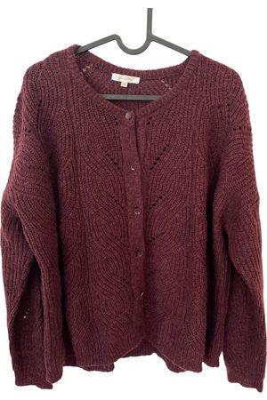 Grace & Mila Women Sweaters - Burgundy Wool Knitwear