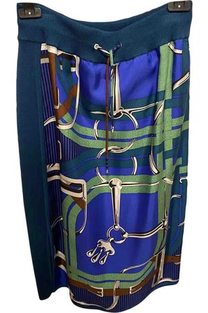 Hermès Silk mid-length skirt