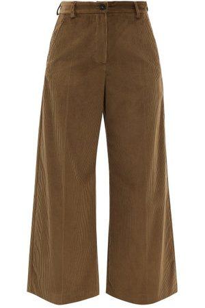 Max Mara Women Formal Pants - Tobia Trousers - Womens - Khaki