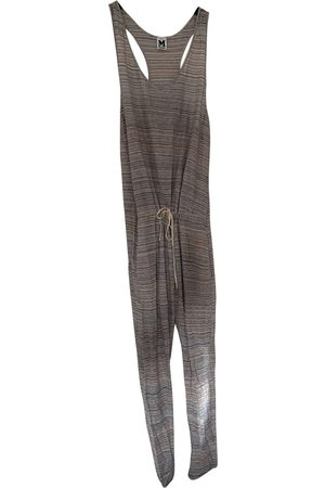 M Missoni Metallic Cotton Jumpsuits