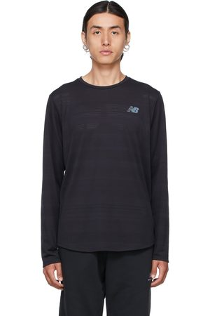New Balance Black Q Speed Fuel Long Sleeve T-Shirt