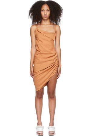 Jacquemus Orange 'La Robe Saudade' Dress