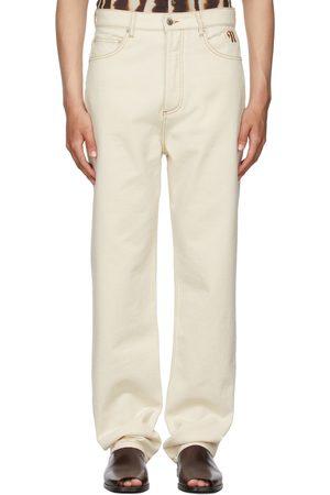 Nanushka Off-White Gannon Jeans