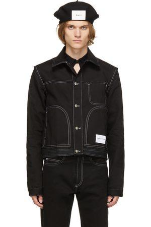 Daniel W. Fletcher Denim Contrast Stitch Jacket