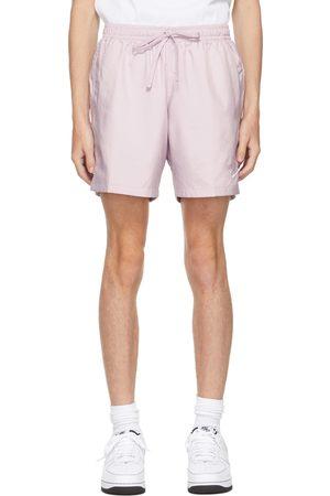 Nike Purple Woven Sportswear Shorts