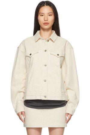 KSUBI Off-White Denim Jacket
