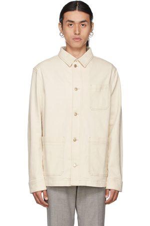 HUGO BOSS Off-White Denim Moore Jacket