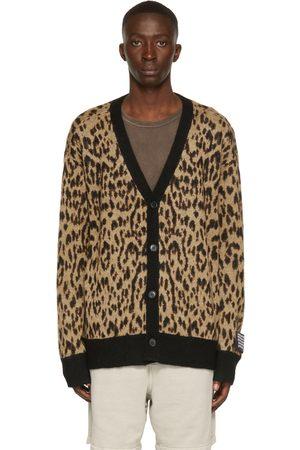 KSUBI Tan Leopard Jungle Cardigan