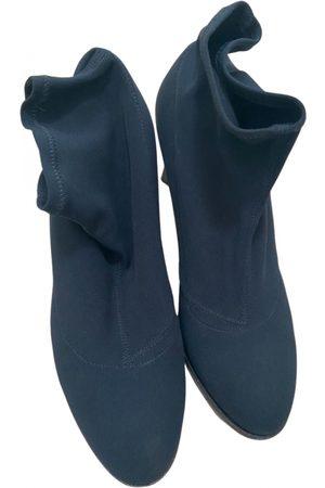 Jil Sander Cloth Ankle Boots
