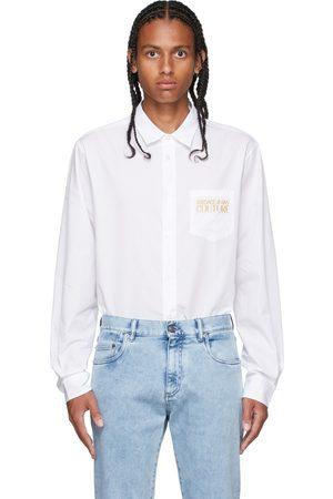 VERSACE White Logo Shirt