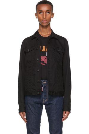 Dsquared2 Black Denim 'Icon' Jacket