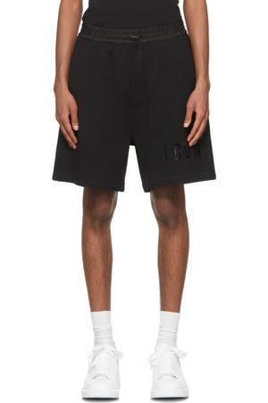 Dsquared2 Black Monotone 'Icon' Shorts