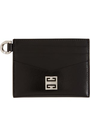 Givenchy Black Leather 4G Card Holder