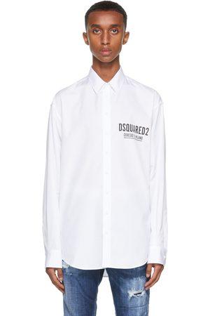 Dsquared2 White 'Ceresio 9' Shirt