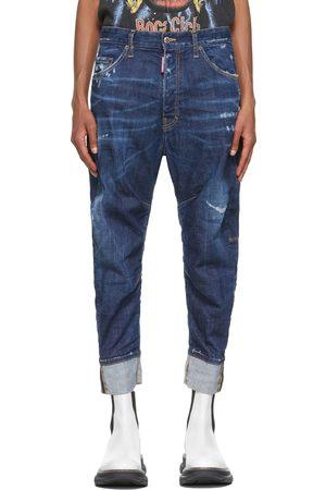 Dsquared2 Blue Combat Jeans