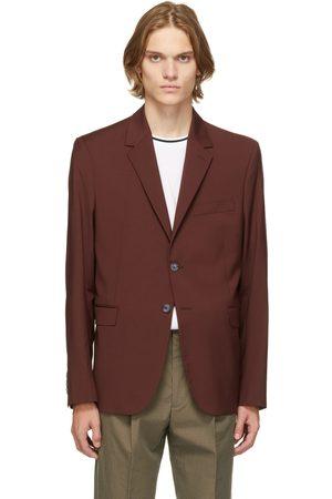 Paul Smith Men Blazers - Burgundy Wool Blazer