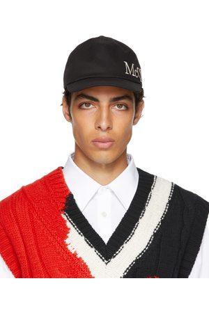 Alexander McQueen Black Logo Cap