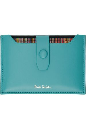 Paul Smith Green Leather Card Holder