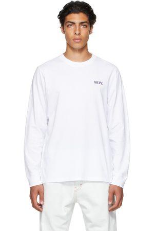 WoodWood White Jon Pilkington Mark Long Sleeve T-Shirt